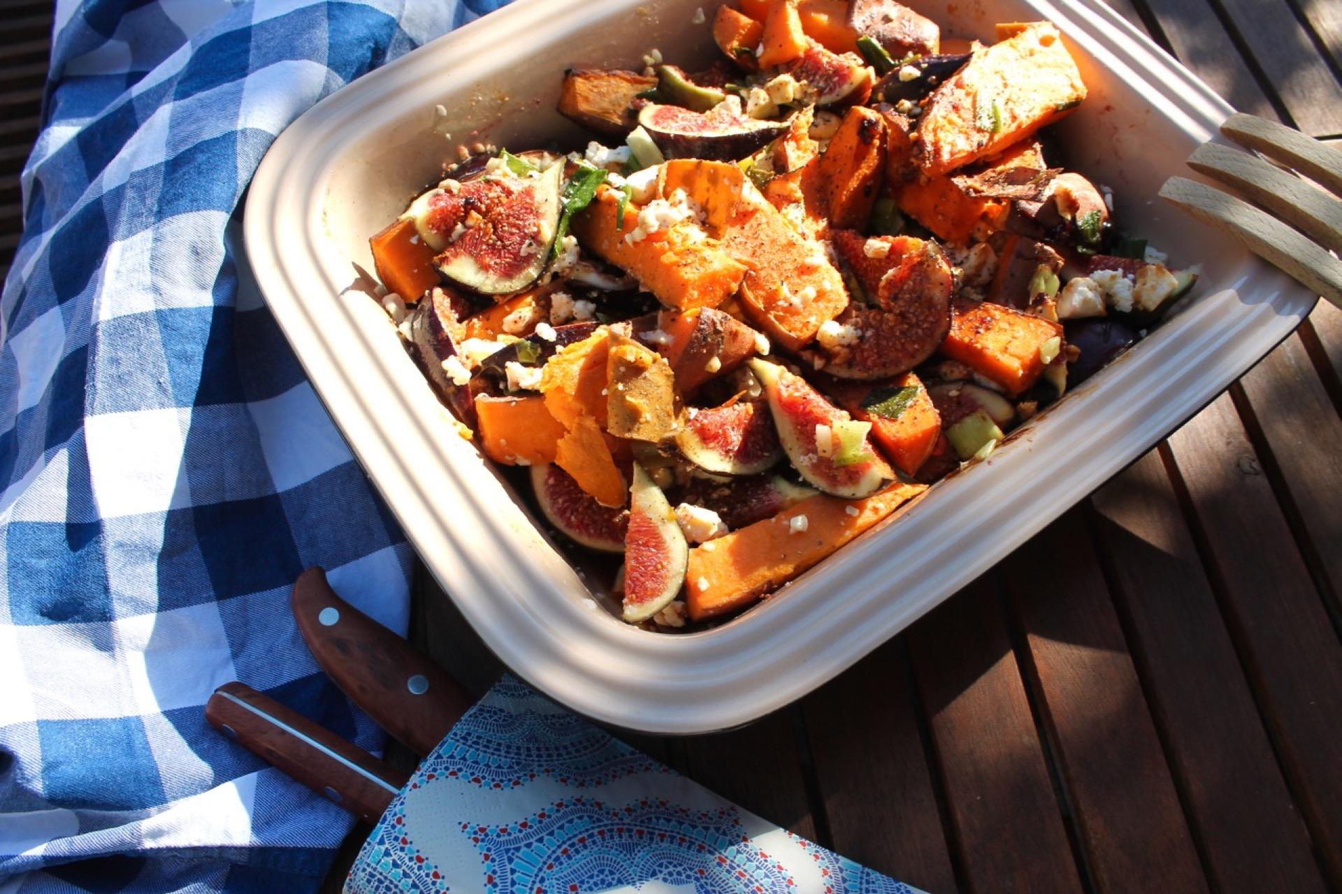 Feigen-Suesskartoffel-Salat