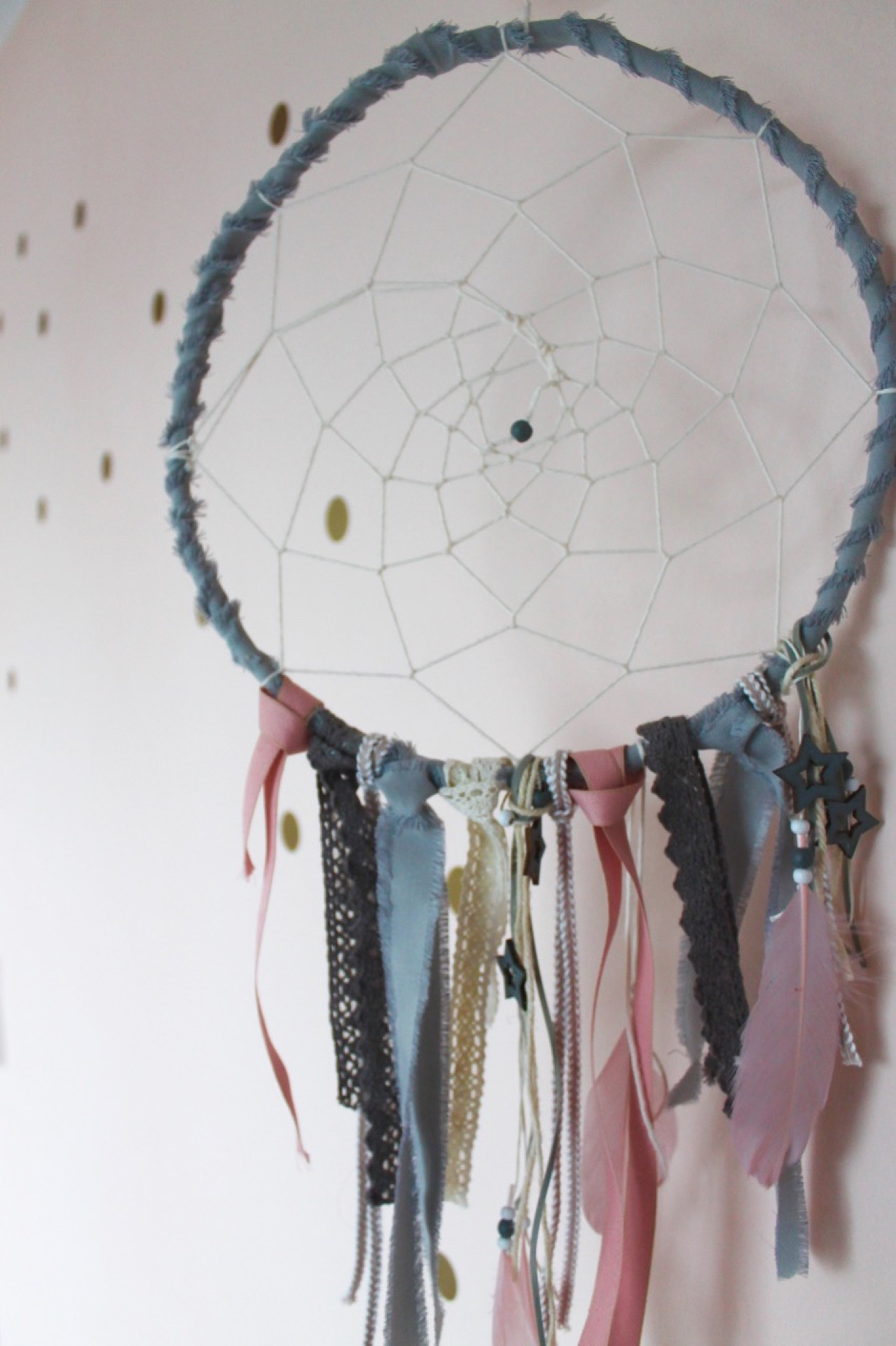 DIY Traumfänger Mädchenzimmer