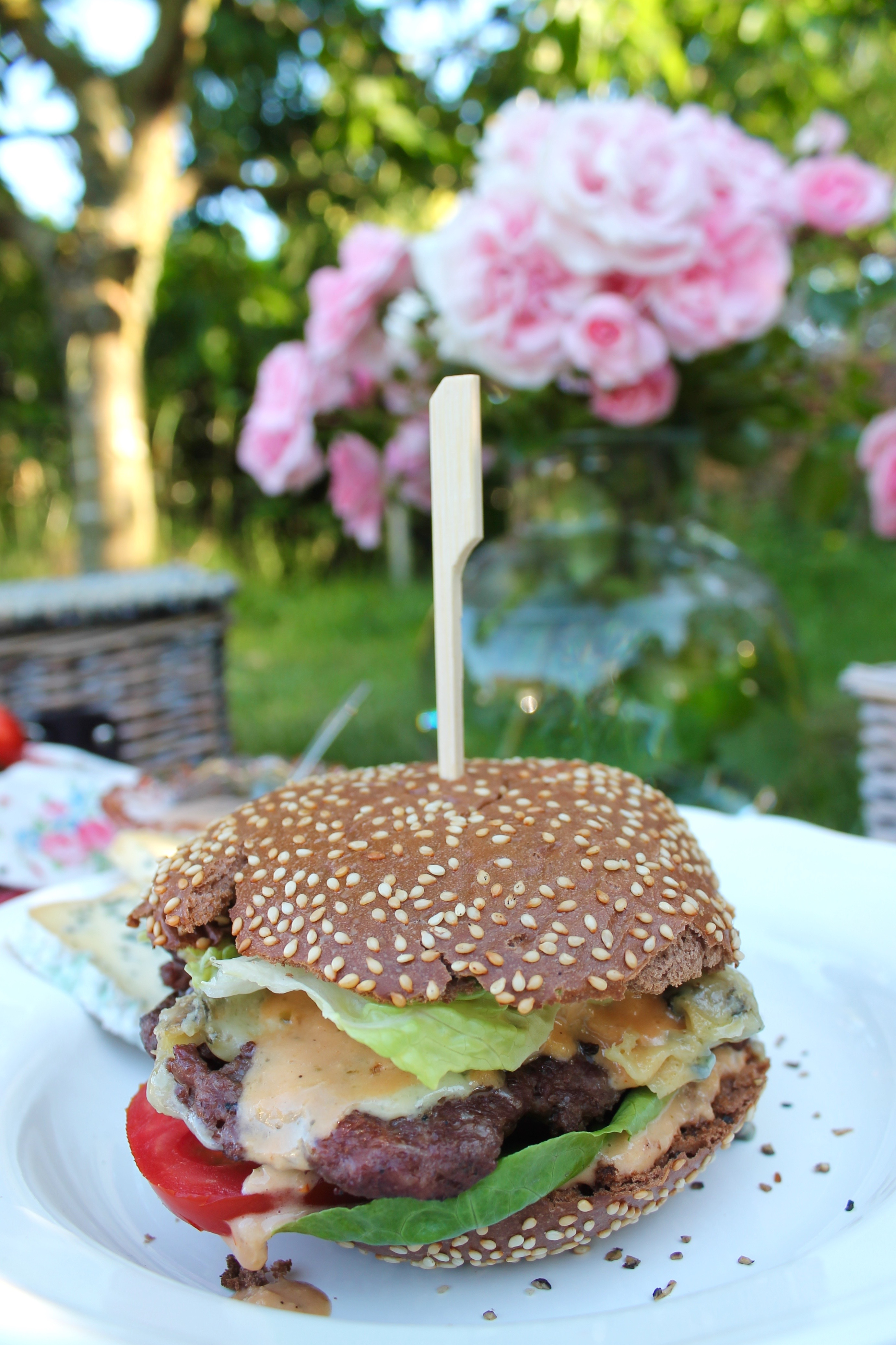 Blauschimmelkäseburger